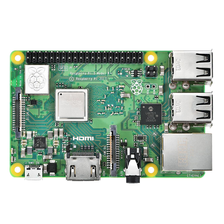 Iceasy raspberry pi 3 modelo b + (plus) motherboard1.4ghz quad-core 64 bit processador wifi bluetooth e porta usb