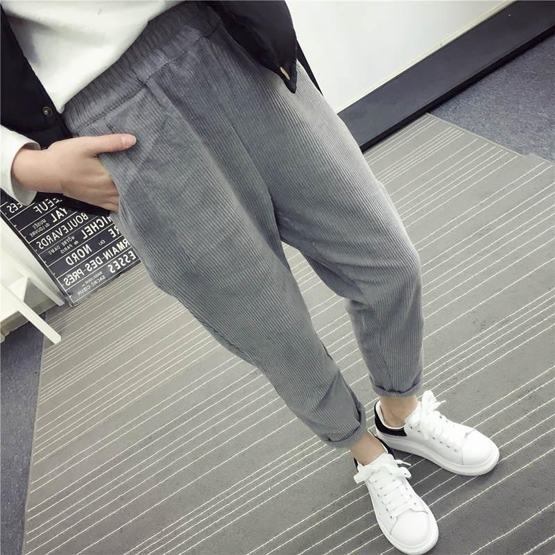 Autumn-Women-Corduroy-Pants-Pantalon-Mujer-Elastic-Waist-Harem-Pants-Plus-Size-3XL-Casual-Sweatpants-Trousers (2)