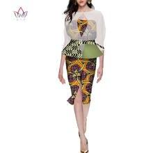 Модные вечерние африканские платья для женщин Дашики с принтом