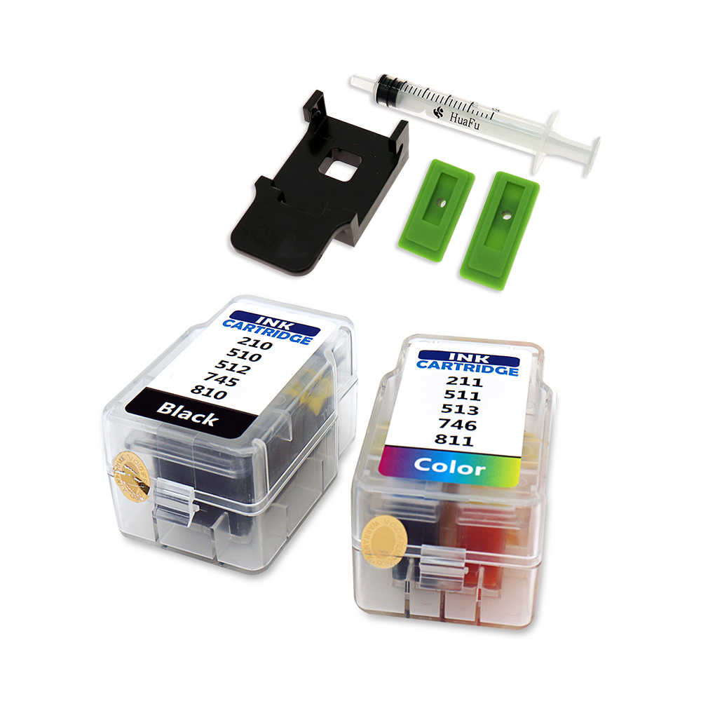 Untuk Canon Smart Cartridge Isi Ulang Kit PG 510 CL 511 445 446 810 811 512 513 145 146 245 246 745 746 545 XL Ink Cartridge