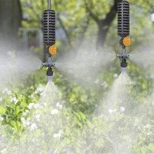 Водяная Туманная система охлаждения насадка распылителя висячая анти-капельная Распылительная насадка туман теплицы растения спрей