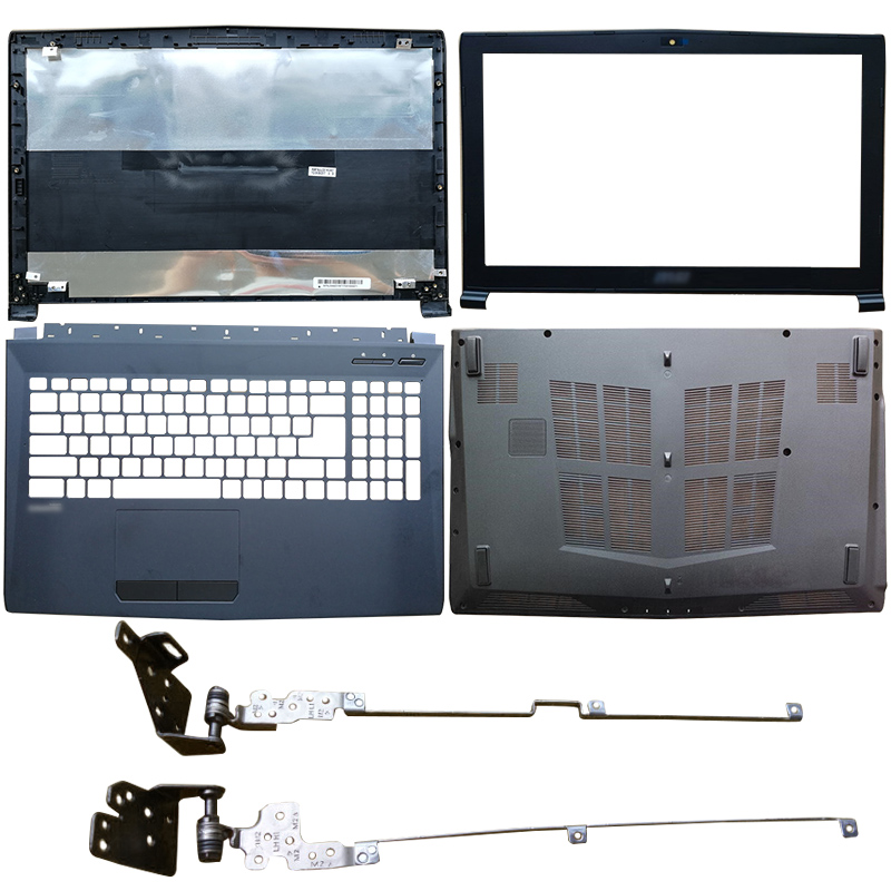 NEW Laptop LCD Back Cover/Front Bezel/Hinges/Palmrest/Bottom Case For MSI GP62 6QG GV62 GL62 6QF GP62MVR MS-16J9 GP62MVR GL62M