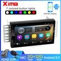 XIMA Android 9,0 2din автомобильный мультимедийный MP5 плеер радио GPS Navi WIFI авторадио для VW Nissan Hyundai kia toyota Peugeot Ladas