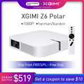 XGIMI Z6 Polare DLP Mini Proiettore 1080P Full HD Home Theater 4K 700 Ansi 3D Android Wifi Bluetooth smart Beamer Proiettori A LED