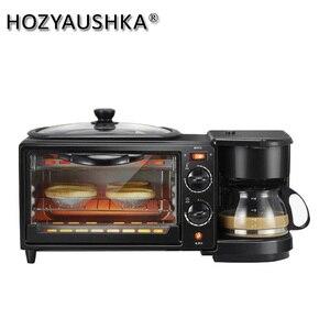 Тостер 3 в 1, электрическая духовка, хлебопечка, устройство для приготовления шапати, устройство для приготовления завтрака, тостер, гриль