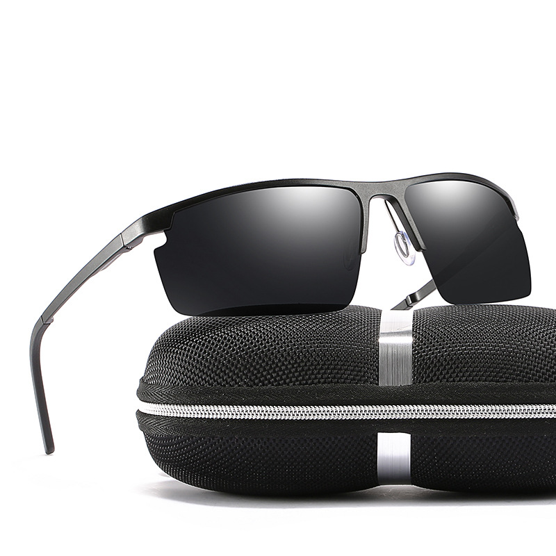 Men Polarized Glasses Driving Goggles Male Hd Sunglasses Metal Frame Classic Uv400 2019