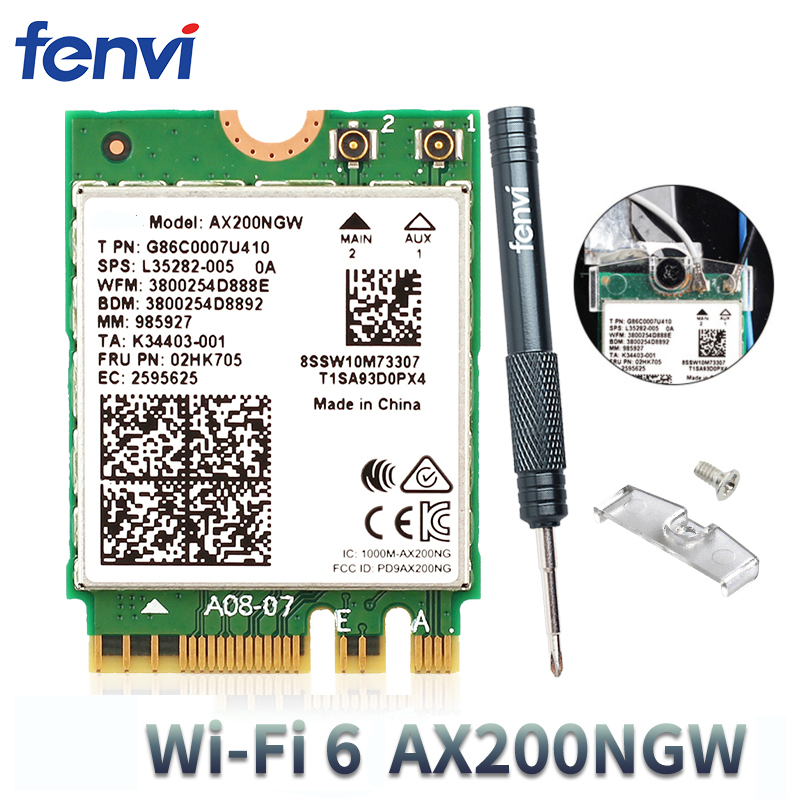 For Intel AX200 Better 9260 Dual band MU-MIMO Wifi Network Bluetooth 5.0 Card