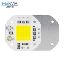 COB LED Chip Lamp 20W 30W 50W 220V AC Smart IC Bulb Chips For Spotlight Floodlight Garden Square Not Need Driver LED Lamp Beads