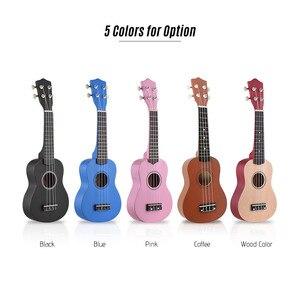"""Image 3 - ammoon Series Ululele 21"""" Ukulele Set 15 Fret 4 Strings Stringed Musical Instrument 19 Styles Ukulele"""