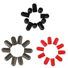 Case-Parts-Accessories Drum-Stick Percussion-Instruments Silicone Rubber-Sleeve for 10pcs/Set