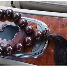 Auto holz perlen anhänger dekoration für Geely Vision SC7 MK CK Kreuz Gleagle SC7 Englon SC3 SC5 SC6 SC7 Panda