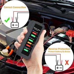 Image 2 - OBDMONSTER 12V Car Battery Tester Vehicle Alternator Test 12 Volt Battery Check Diagnostic Tool for Automobile and Motorcycle