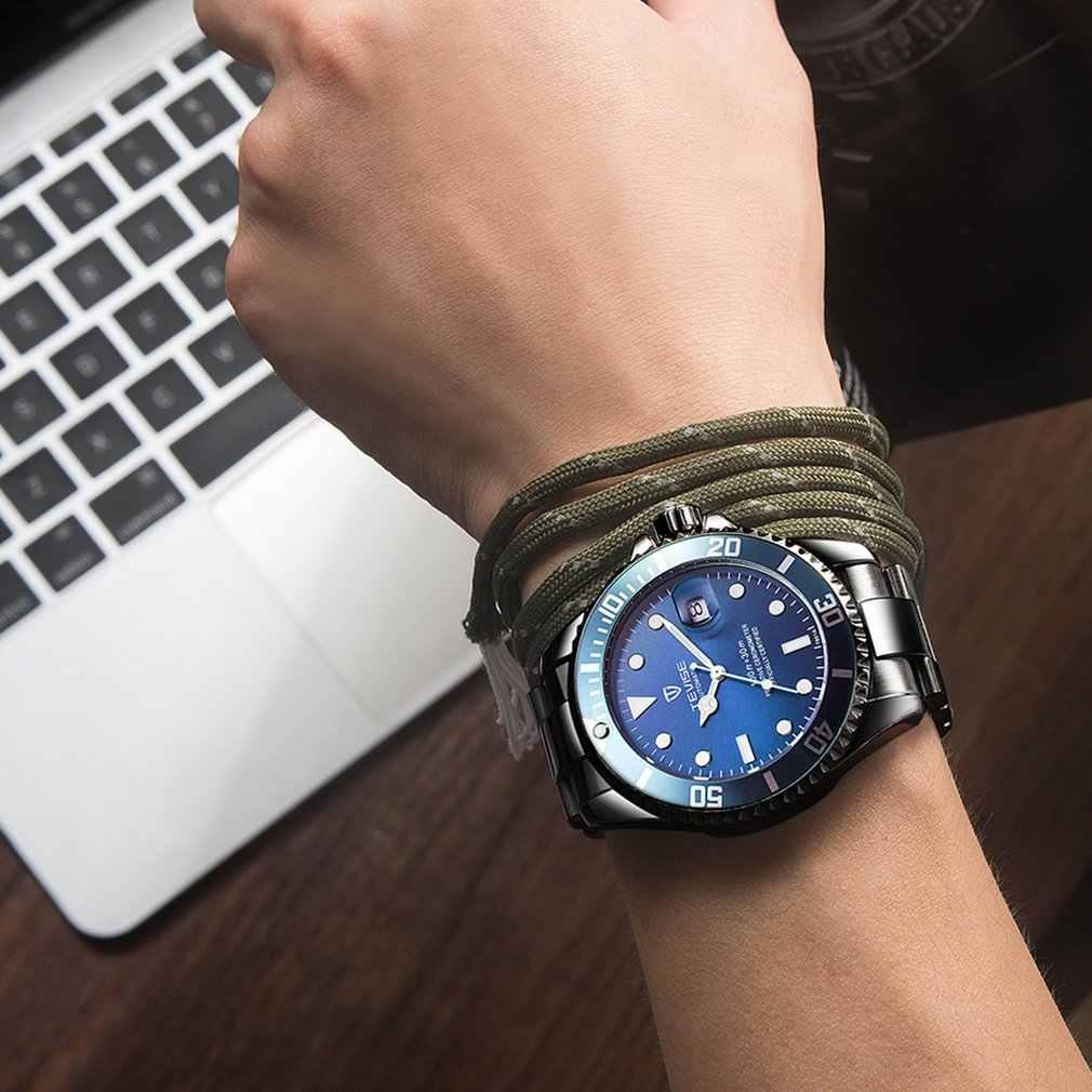 TEVISE นาฬิกาผู้ชาย Luxury Mechanical นาฬิกาเข็มขัดกันน้ำอัตโนมัตินาฬิกาธุรกิจใหม่ 2019