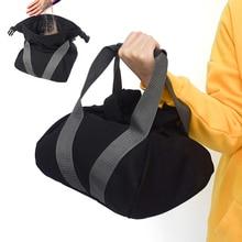 цена на Portable Fitness Sandbag Soft Heavy Sand Bags Weightlifting Dumbbell Training Bag Fitness Equipment