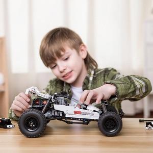 Image 4 - Xiaomi Mijia  Building Blocks Desert racing 6 Years Old Children Puzzle Educational Kids Toys