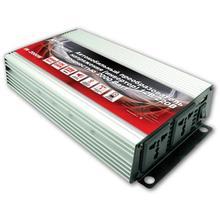 Преобразователь напряжения автомобильный AVS IN-2000W(12В > 220В, 2000 Вт, USB)(+ Набор предохранителей в подарок