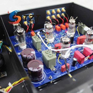 Image 3 - XiangSheng 728A Vacuum Tube Preamplifier HIFI EXQUIS 12AT7 12AU7 6Z4 with Tone