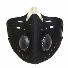 New Running Anti Dust Dustproof Motorcycle Riding Bike Ski Half Face Mask Women Men Activated Charcoal Cloth Filter Mask P25(China)
