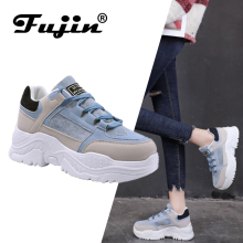 FUJIN Women Women Casual Sneakers Winter Sneakers Plush Fur