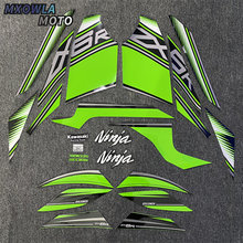 цена на For Kawasaki ZX6R ZX-6R 2013-2017 2014 2015 2016 Motorcycle Whole Fairing Sticker Decals Kit