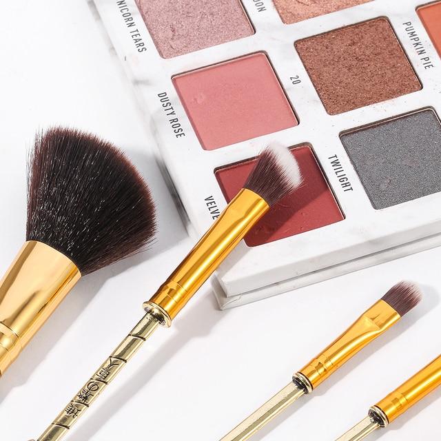 2020 Japan Anime Attack on Titan Makeup Brushes Set Professional Cosmetic Powder Eye Shadow Eyebrow Beauty Make Up Brush Tool 6
