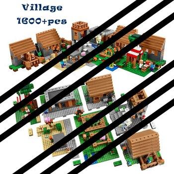 1600 + 個構築のおもちゃ趣味互換 21128 村ブロックレンガ教育子供のための