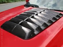 Couvercle de capot de moteur adapté à la Mustang GT500, en Fiber de carbone ABS de haute qualité, accessoires de voiture 2015 – 2020