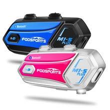 Fodsports m1 s плюс переговорное устройство для мотоциклетного