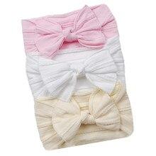 3 Pçs/set Atada Headbands Do Bebê Recém-nascido Headbands E Arcos Para A Criança Infantil Criança Torcido Cabo Projeto Turbante Crianças Headwear