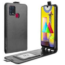 Funda de piel con tapa Vertical SM-M315F para Samsung M31 para Samsung Galaxy M01 SM-M015F