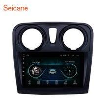 Seicane 9 Inch Máy Nghe Nhạc Đa Phương Tiện 2 Din Android 10.0 Cho Cho Renault Dacia Sandero 2012 2013 2014 2017 hỗ Trợ Camera Sau