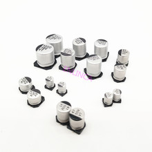 10-50pcs 10V 16V 25V 35V 47UF 50V 100UF 220UF 470UF 1000UF 10UF 22UF 330UF 2200UF 150UF Aluminum electrolytic capacitor 20%