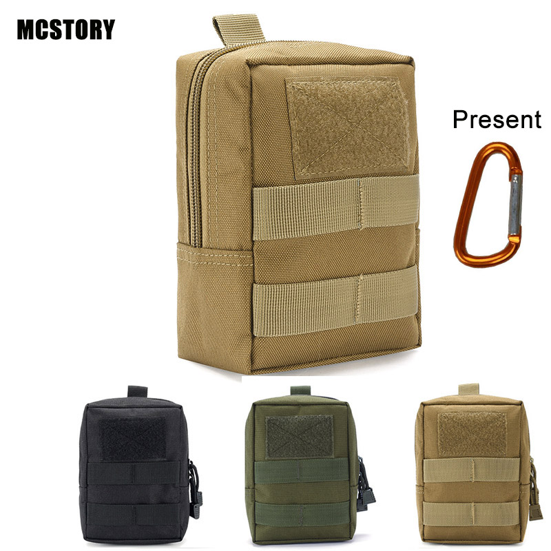 900D Military Tactical Life Bag Multifunctional Tool Pouch EDC Hunting Durable Belt Pouches Packs Outdoor Zipper Waist Pack