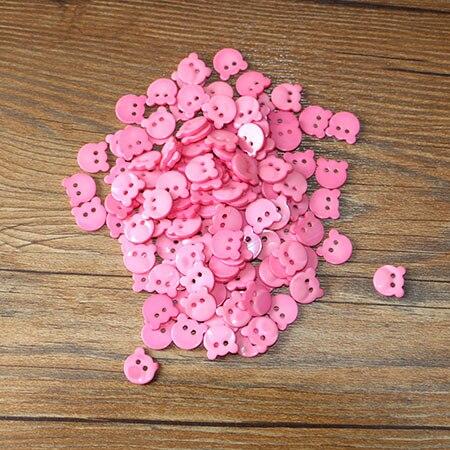 50 шт. смолы Кнопка клип круглый микс два отверстия подходит для одежды diy кнопки сумки аксессуары - Цвет: 20PCS 12mm
