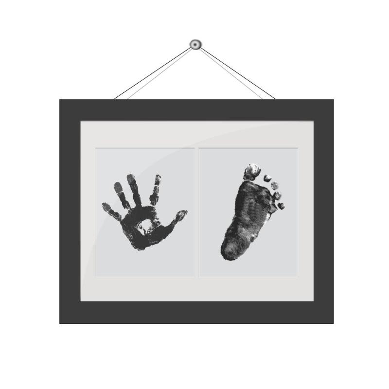 Non-Toxic Baby Handprint Footprint Imprint Kit Baby Souvenirs Casting Baby Care Newborn Footprint Ink Pad Infant Clay Toy Gifts