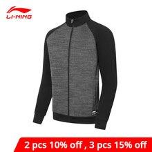Мужская спортивная куртка Li-Ning, серия бадминтон, с застежкой-молнией, с карманами, с подкладкой, пальто для соревнований li-ning AWDP741
