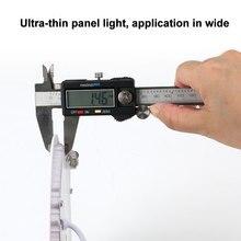 4Pcs LED Panel Light 3W 4W 6W 9W 12W 15W 18W Ultra Thin Recessed Ceiling Light 85-265V LED Spotlight For Living room