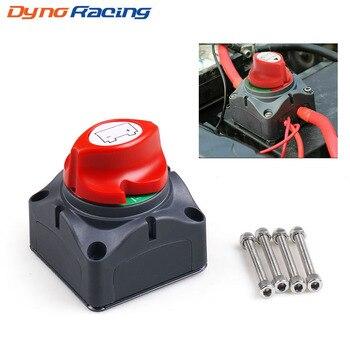 Selector de batería para coche, 12V-60V, 100A-300A, aislador de desconexión, interruptor giratorio de corte 1