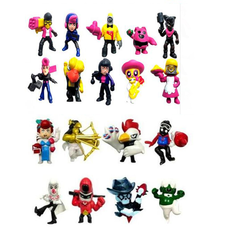 Game Stars Action Figure toys Leon Shelly Colt Jessie Dolls Model Toys Kid Gift 8pcs/12pcs/18pcs/set image