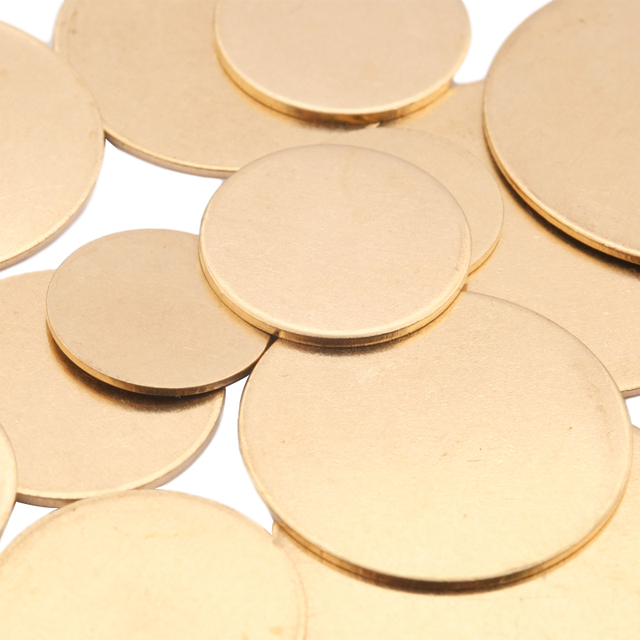 Pendants Findings 27mmx20mm F612 20pcs Raw Brass Blank Charms,Stamping Tag