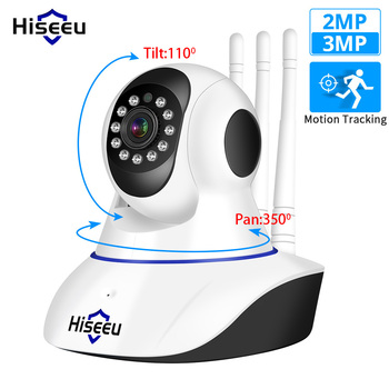 Hiseeu 1080P 1536P IP Camera WIFI Wireless Home Security Camera Surveillance 2-Way Audio CCTV Pet Camera 2mp Baby Monitor 1080p 2mp wireless indoor wifi surveillance camera two way audio cctv security ip camera home dome baby monitor support sd card