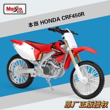 цена на Maisto 1:12 Honda CRF450R Diecast Alloy Motorcycle Model Toy