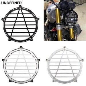 For BMW R NINE T R NineT R9t 2014-2019/R Nine-T Scramble 2014-2017 Motorcycle Headlight Bezel Trim Ring Cover Guards
