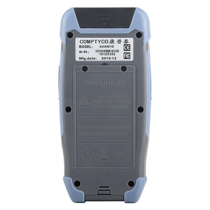 Pro мини волоконно-оптический рефлектометр с 9 функциями VFL OLS OPM карта событий 24dB для 64 км волоконный кабель Ethernet тестер - Цвет: 1550nm (UPC Port)