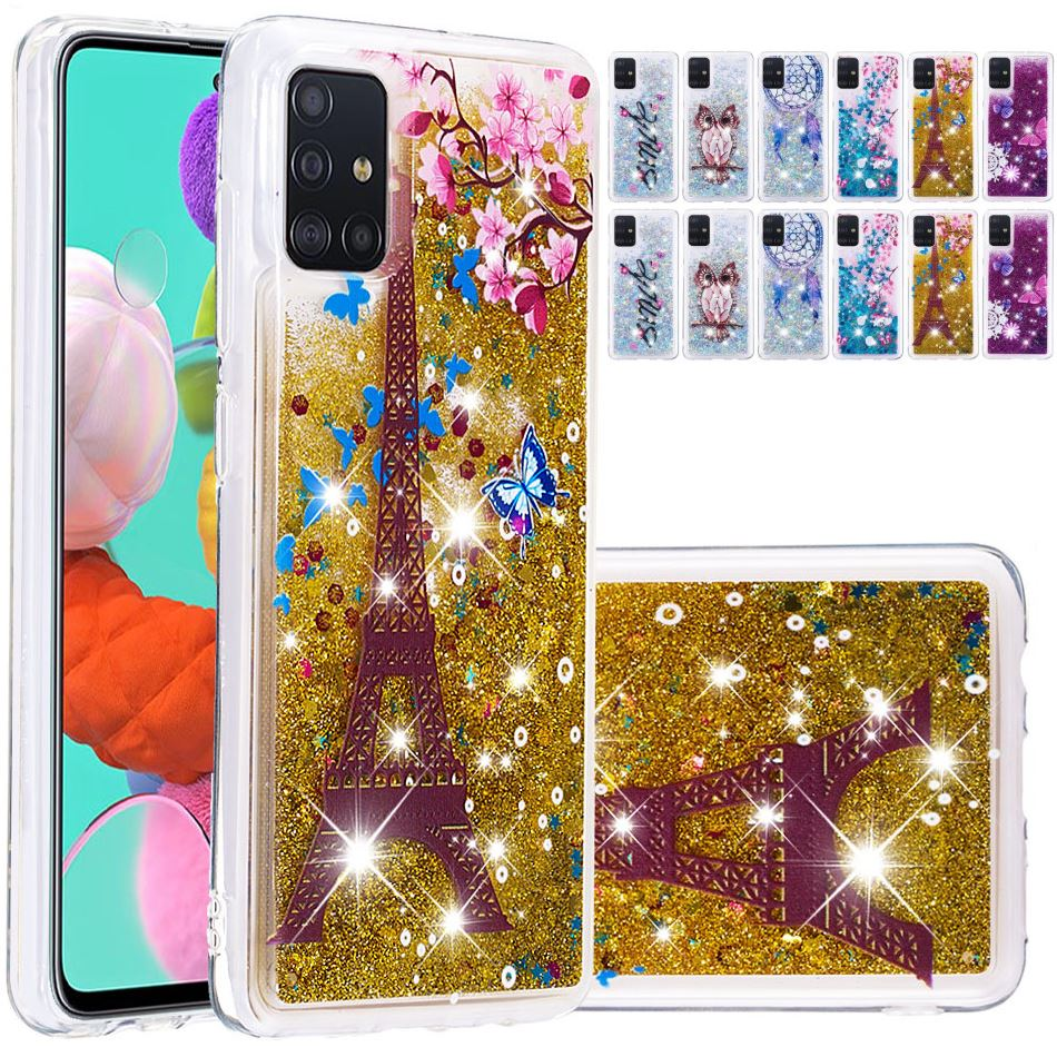 Sexy Girl Glitter Quicksand <font><b>Case</b></font> For <font><b>Samsung</b></font> Galaxy Note <font><b>10</b></font> S8 S9 S10 Plus S20 Ultra A30S A50S Patterned Soft Phone Cover D03E image