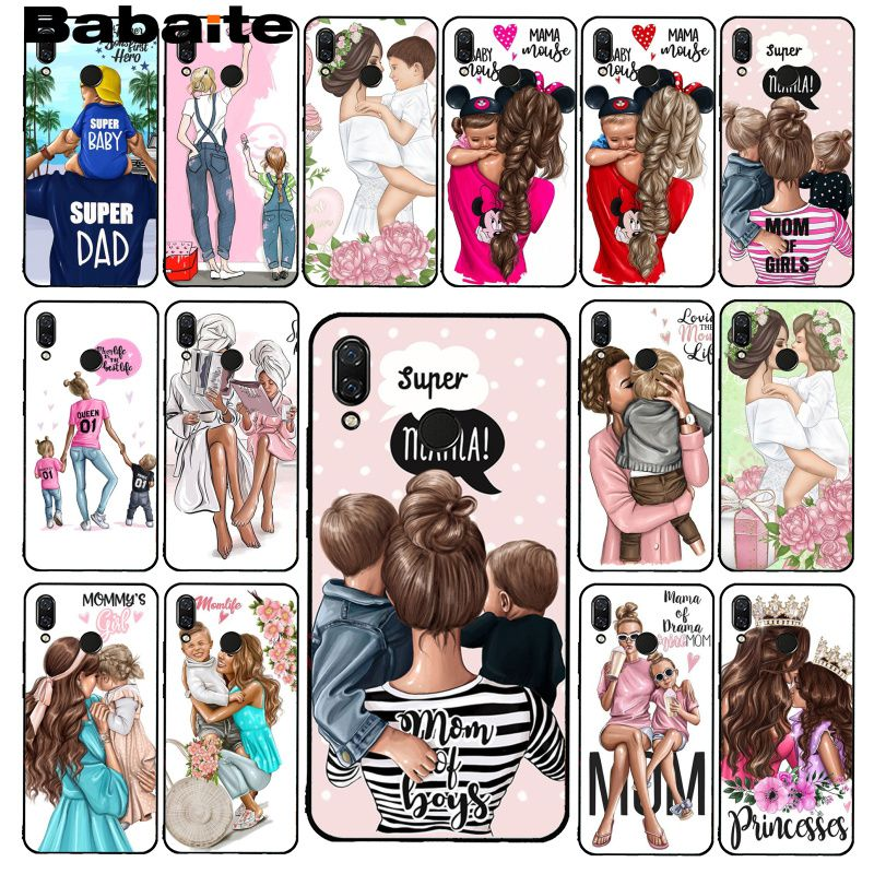 Babaite Hair Brown Redmi4x6a Baby 5plus Dad-Phonecase Xiaomi Daughter Note6pro For Redmi4x6a/S2/Go-5/..