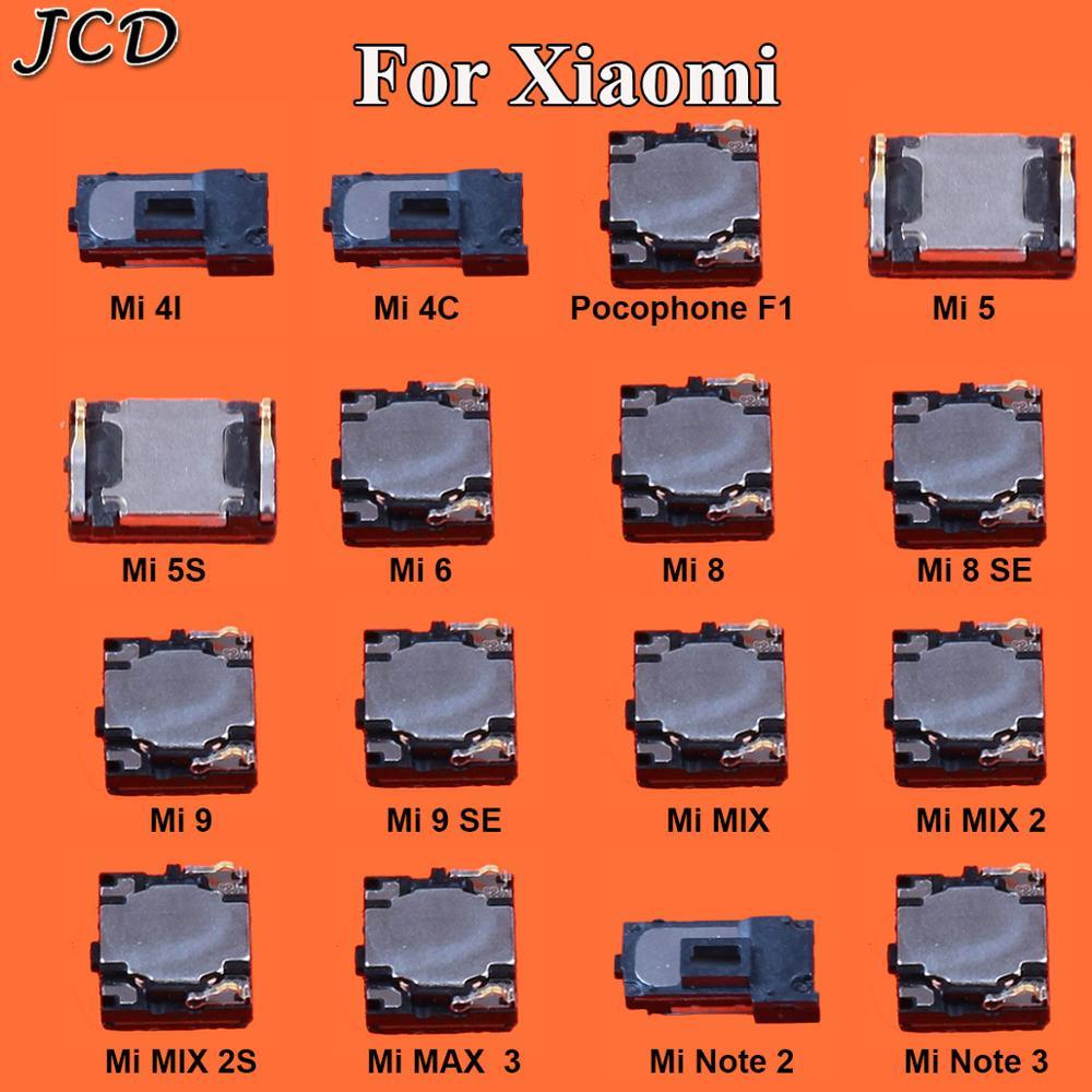 JCD 2PCS  Built-in Earphone Earpiece Top Ear Speaker For XiaoMi Mi PocoPhone Poco F1 Mi  5 5S  6 9 8 SE Max 3 Mix 2 2S Note 2 3
