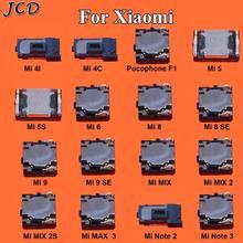 JCD 2PCS Gebaut-in Kopfhörer Hörer Top Ohr Lautsprecher Für XiaoMi Mi PocoPhone Poco F1 Mi 5 5S 6 9 8 SE Max 3 Mix 2 2S Hinweis 2 3