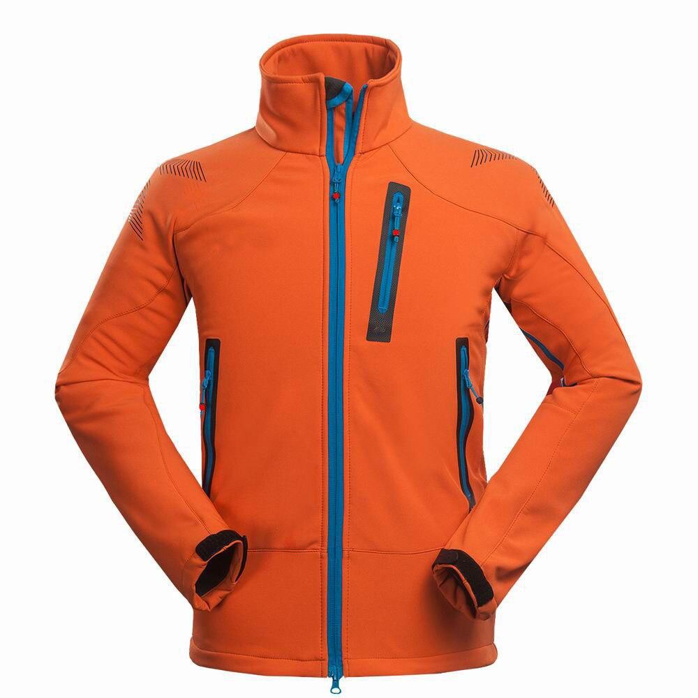 Imperméable SoftShell randonnée veste hommes coupe-vent respirant manteau de pluie en plein air Trekking pêche Camping chaud polaire vestes