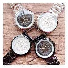 цена Luxury Brand Business Men Mechanical Watch Classic Sapphire Automatic Tourbillion Fashion Casual Limited AAA Mechanical Watch онлайн в 2017 году